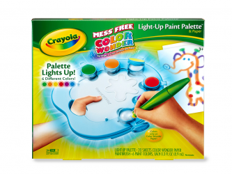 Crayola® Color Wonder Light-Up Paint Palette