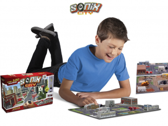 Sonix City Playsets